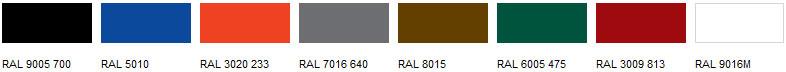 Cast Iron Gutters Colour Range